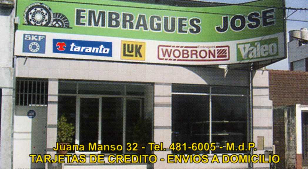 Embragues José